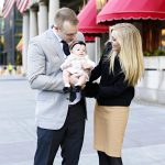 Boston family photography in Copley Square