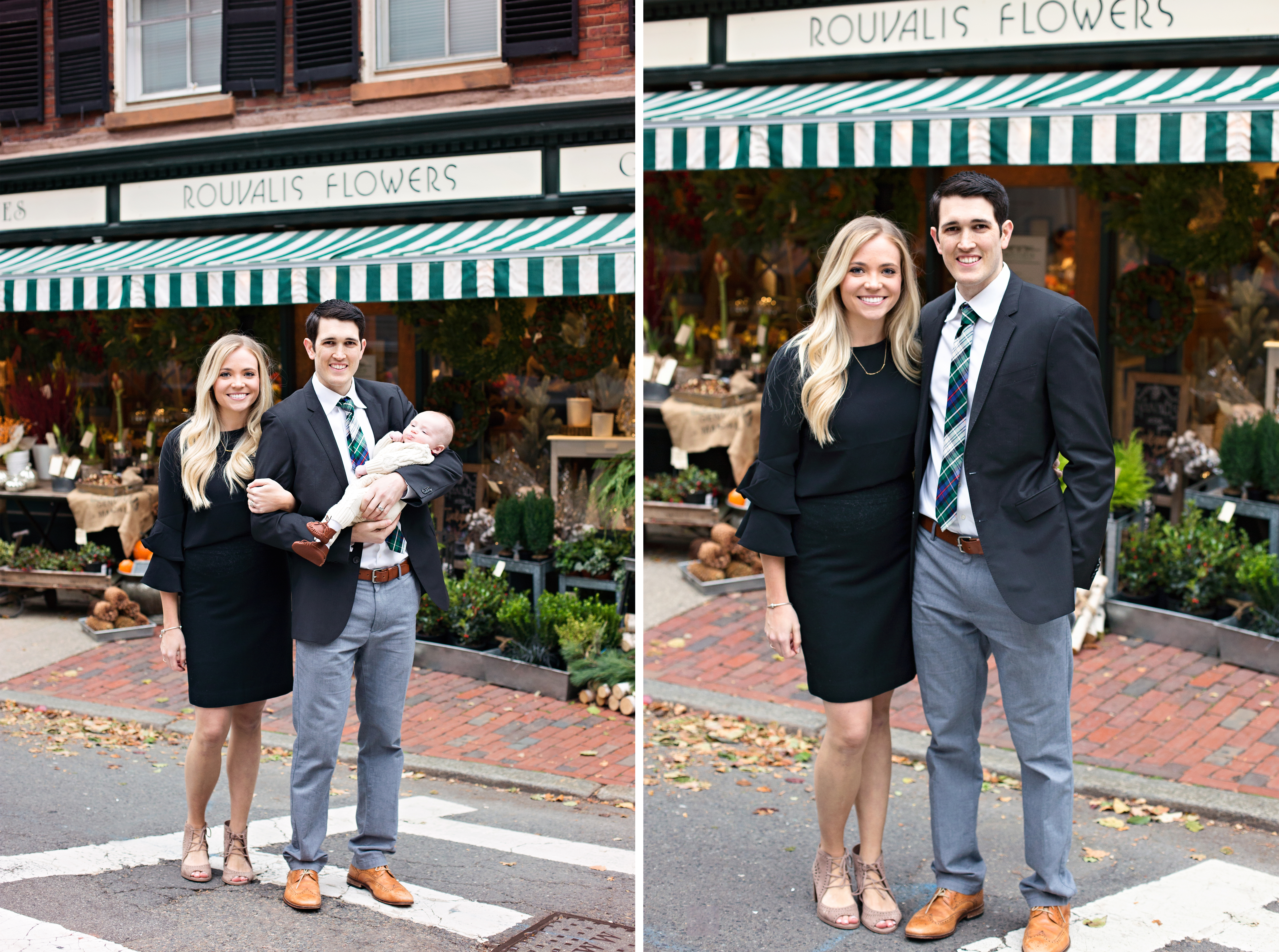 Boston family photo in Beacon Hill